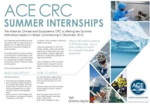Flyer_ACE-CRC-Summer-Internships_2015-16